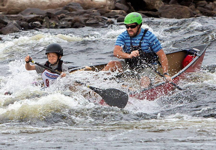 American Canoe Association Penobscot River Whitewater Nationals Regatta