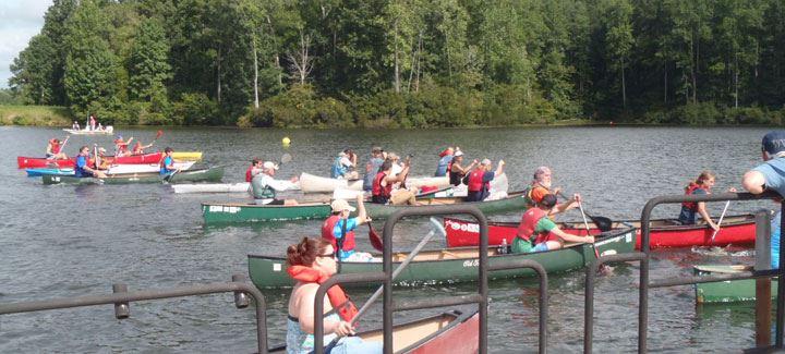 Beaverdam Canoe Jam